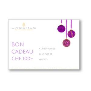 bon cadeau du Centre Laseris à Lausanne