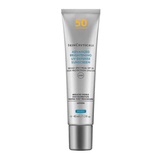 Tube de crème solaire de la marque SkinCeuticals