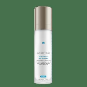 Photo de la crème cou et décolleté TRIPEPTIDE NECK-REPAIR Skinceuticals Laseris Lausanne