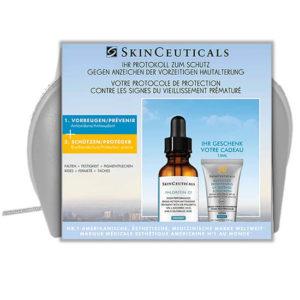 Trousse d'été SkinCeuticals Phloretin CF et Advanced Brightening UV Defense